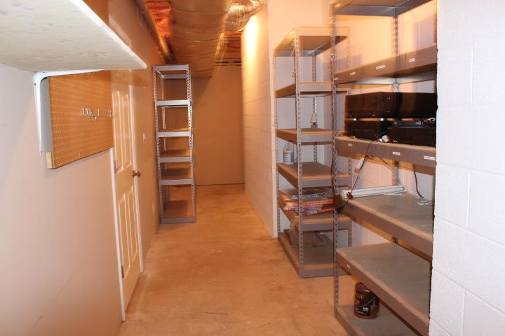 Basement storage Room