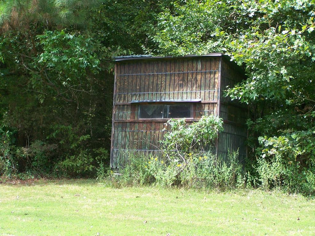 Enclosed deer stand to watch your deer