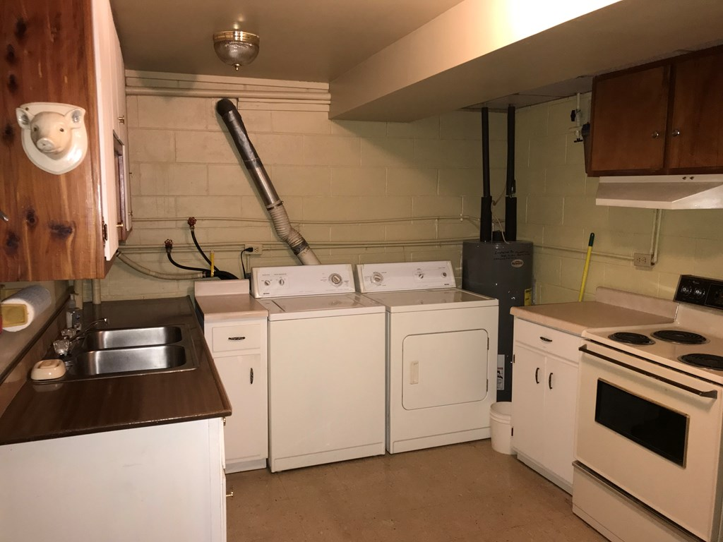 Kitchen in Lower Level