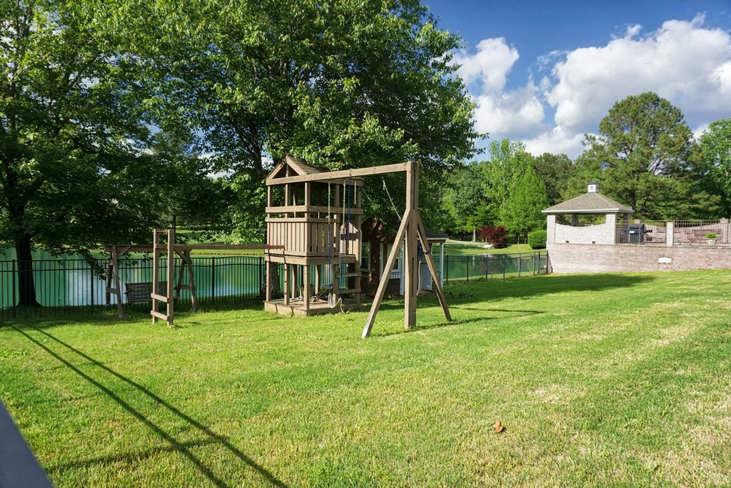 Fenced Play Area